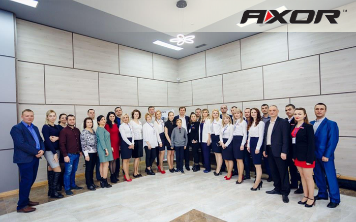 AXOR attends the opening of Okoshko manufacturing plant in Moldova