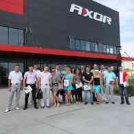 STEKO regional representatives visited the plant AXOR INDUSTRY